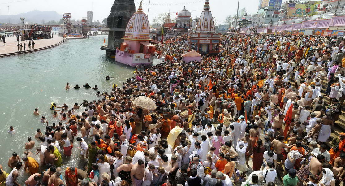Second Shahi Snan in Haridwar