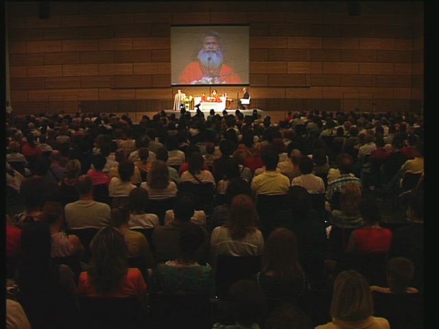 Swamiji again in Zagreb