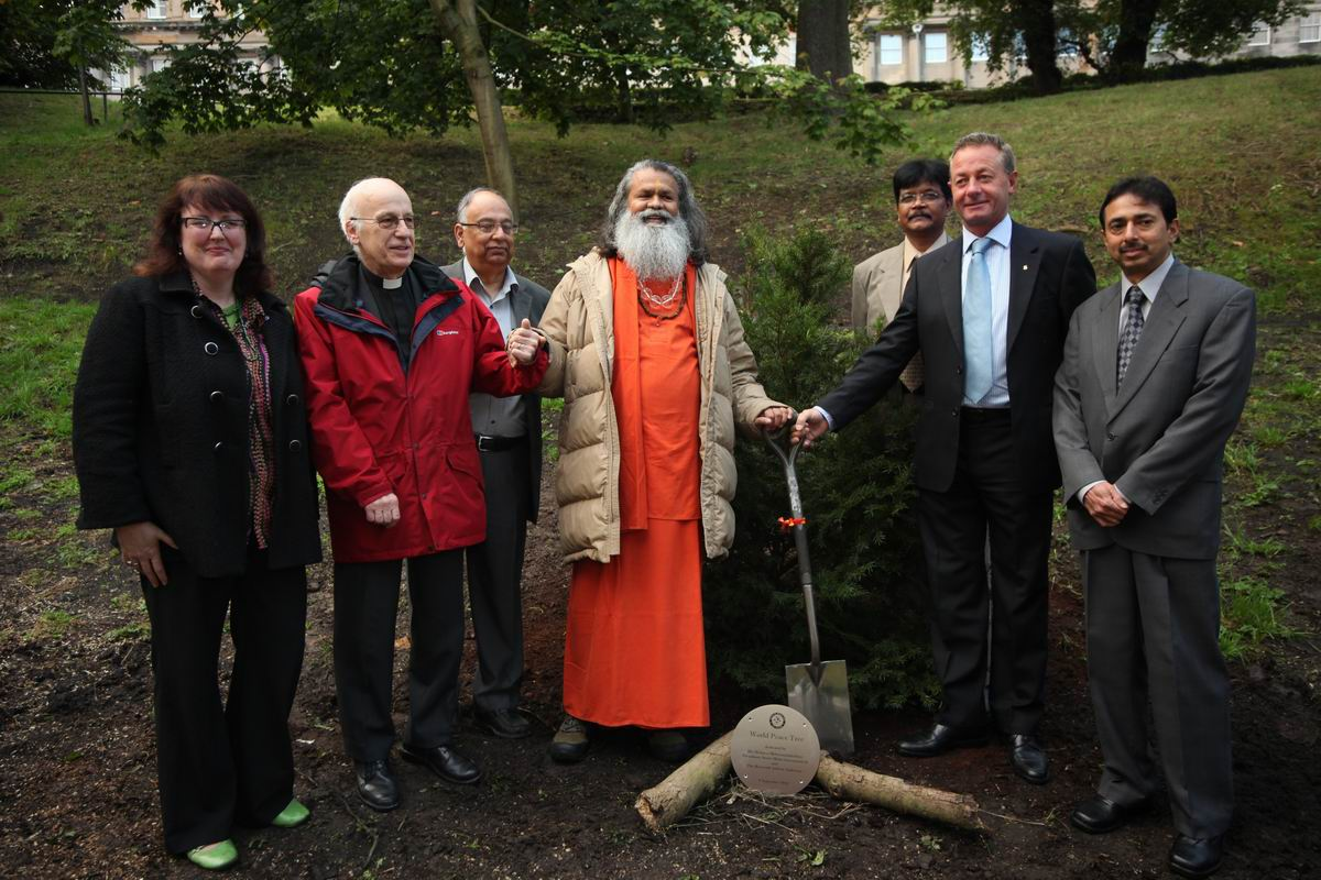 Edingburgh Peace Tree Planting Ceremony 8-9-10