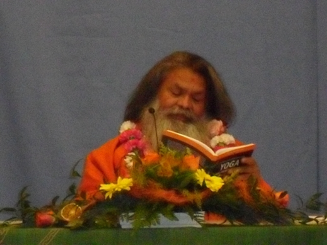 Report about Swamiji's visit and program in St. Poelten