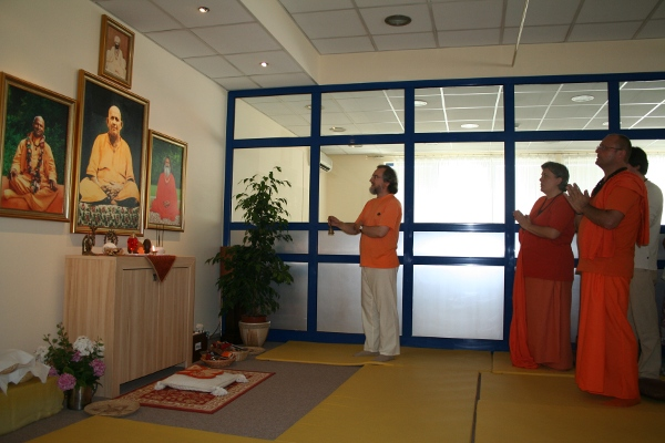 New yoga center has opened in Novi Sad