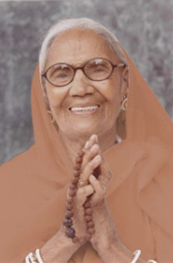 Mataji - the mother of H.H. Vishwaguru Mahamandaleshwar Paramhans Swami Maheshwarananda - left this physical world