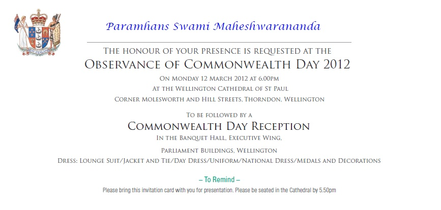 Commonwealth Day on 12 March 2012