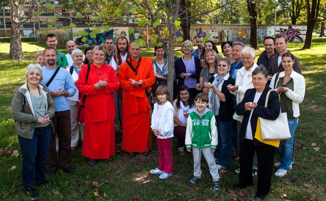 Day dedicated to peace - Croatia, 21 September 2012