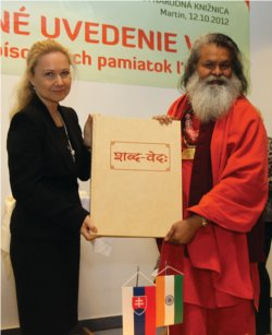 The Holy Vedas coming to Slovakia – 2012