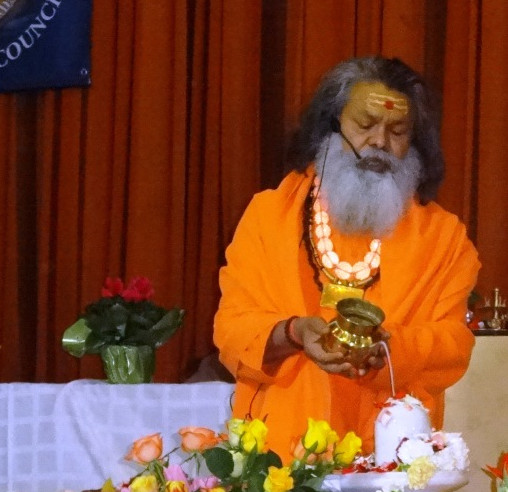 International Maha Shivaratri Satsang with Swamiji in Vep, 2014