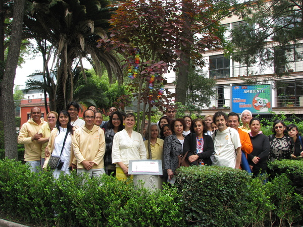 SECOND ANNIVERSARY OF PEACE TREE IN MEXICO
