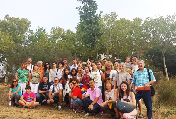 Peace Tree planting in Barcelona Spain