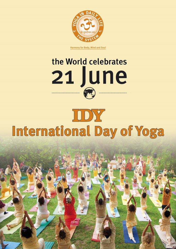 Free Yoga in celebration of #IDY - International Day of Yoga