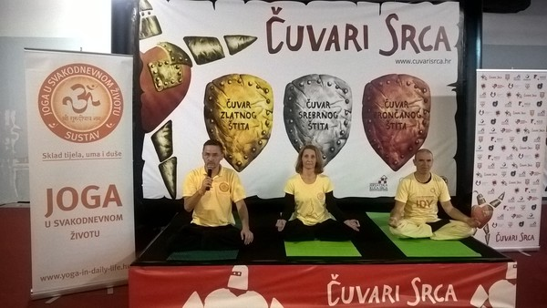 "Yoga in Daily Life Zagreb - partner of ""Guardians of the Hearts"""