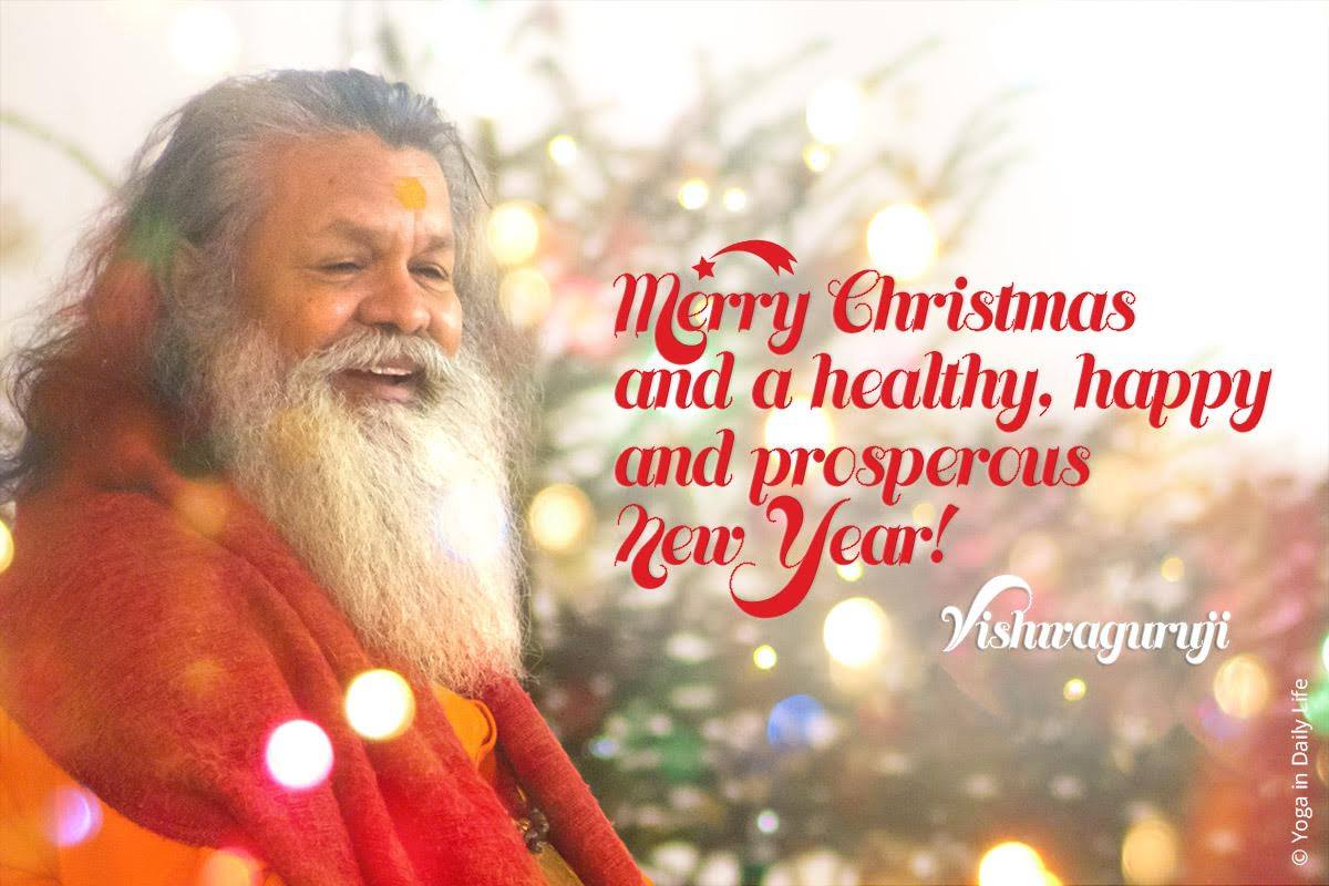 Christmas Blessings from Vishwaguruji