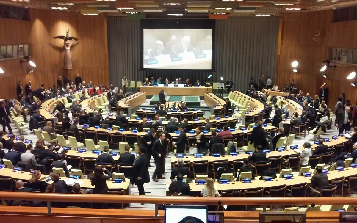 Representatives of YIDL and SSMWPC participate in UN High Level Summit