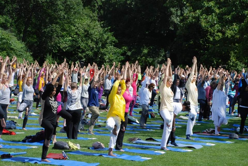 3rd International Day of Yoga - Vienna, Austria