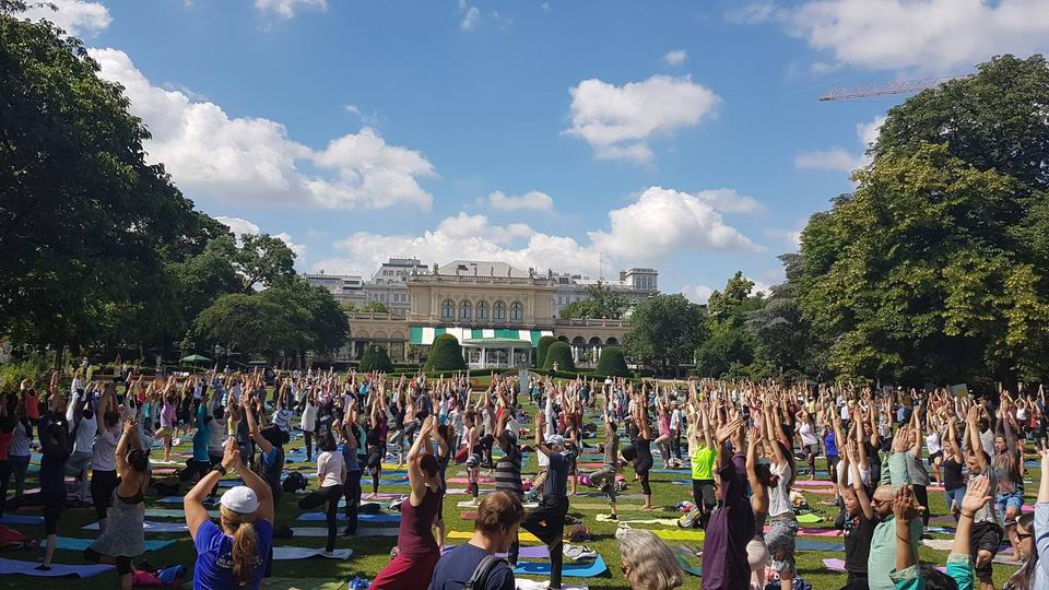 Yoga in Daily Life celebrations of IDY around the world