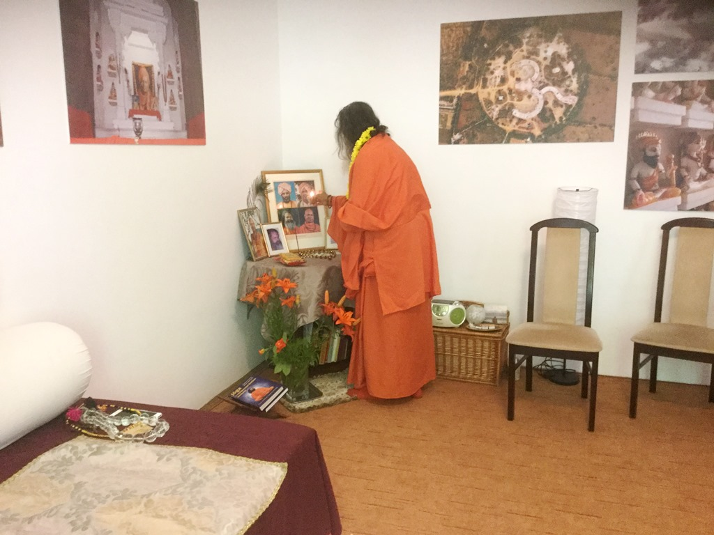 Inauguration of a new ashram in Budapest