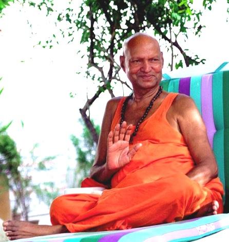 Holy Guruji Blessing