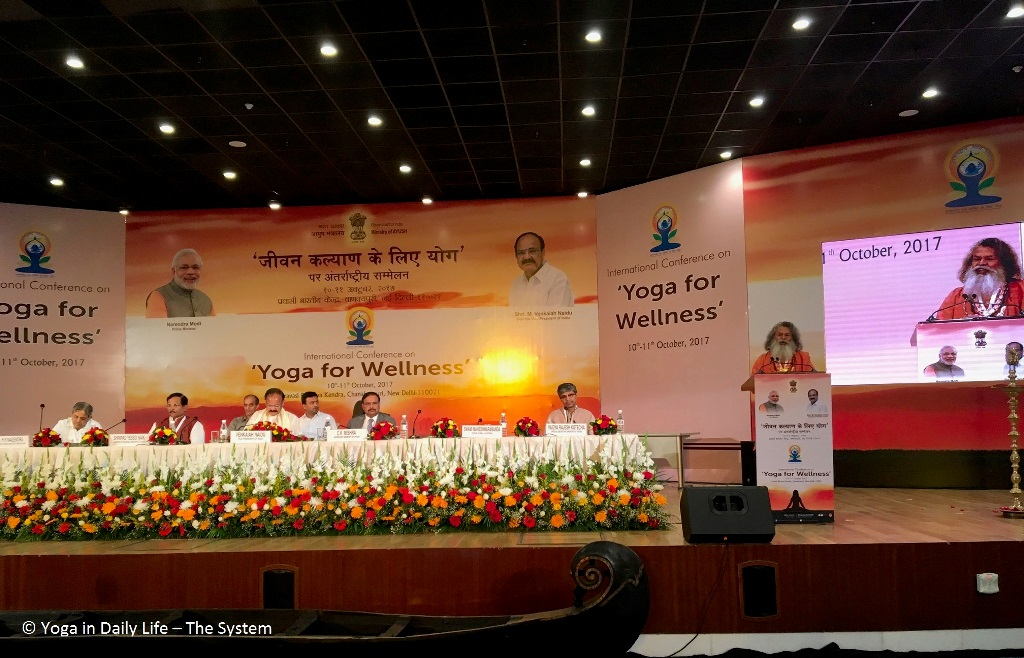 Vishwaguruji takes part in International Conferences in Delhi and Jodhpur