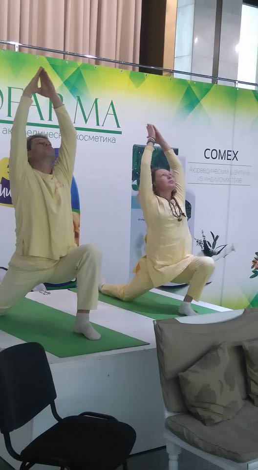 4 Yoga in Daily Life Participation In Yoga Expo, Ukraine 2017