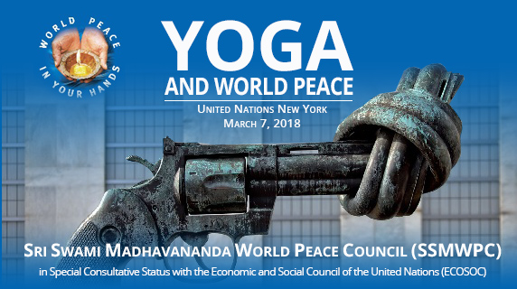 Yoga and World Peace - United Nations, New York, 7 March 2018