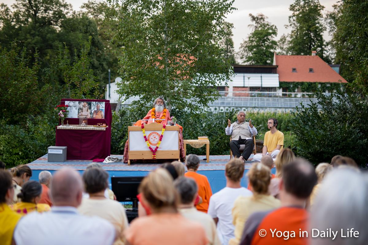 Special Cultural Event at Summer Sadhana Retreat, Mahaprabhu Dip Ashram Strilky, CZ