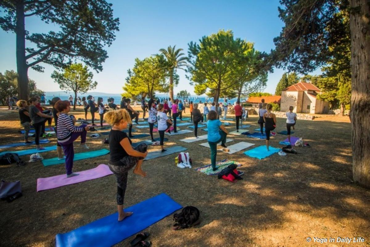 Yoga in Daily Life event: 'Health is My Way' in Split, Croatia