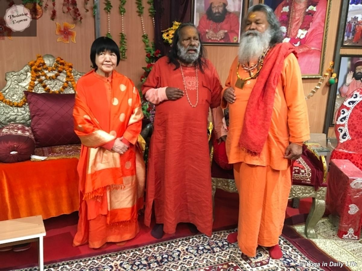 swamiji and famous pilot baba 20190208