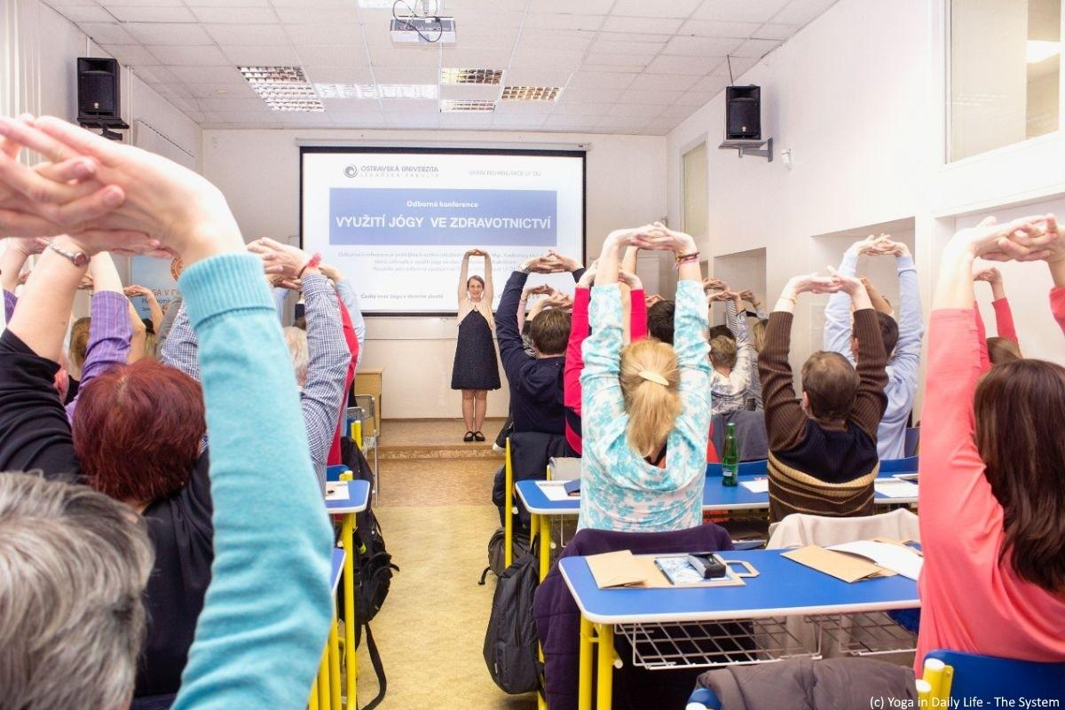 Conference: 'Use of Yoga in Healthcare' in Ostrava, Czech Republic