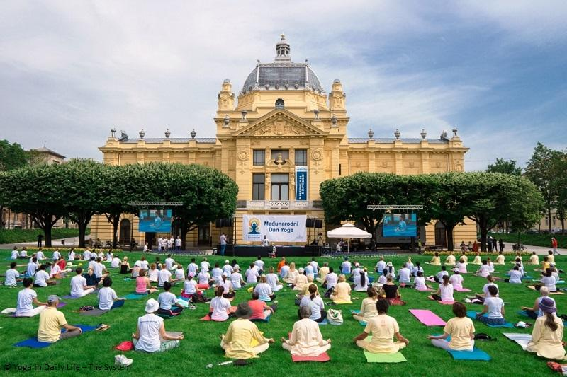 Celebrating the International Day of Yoga 2019