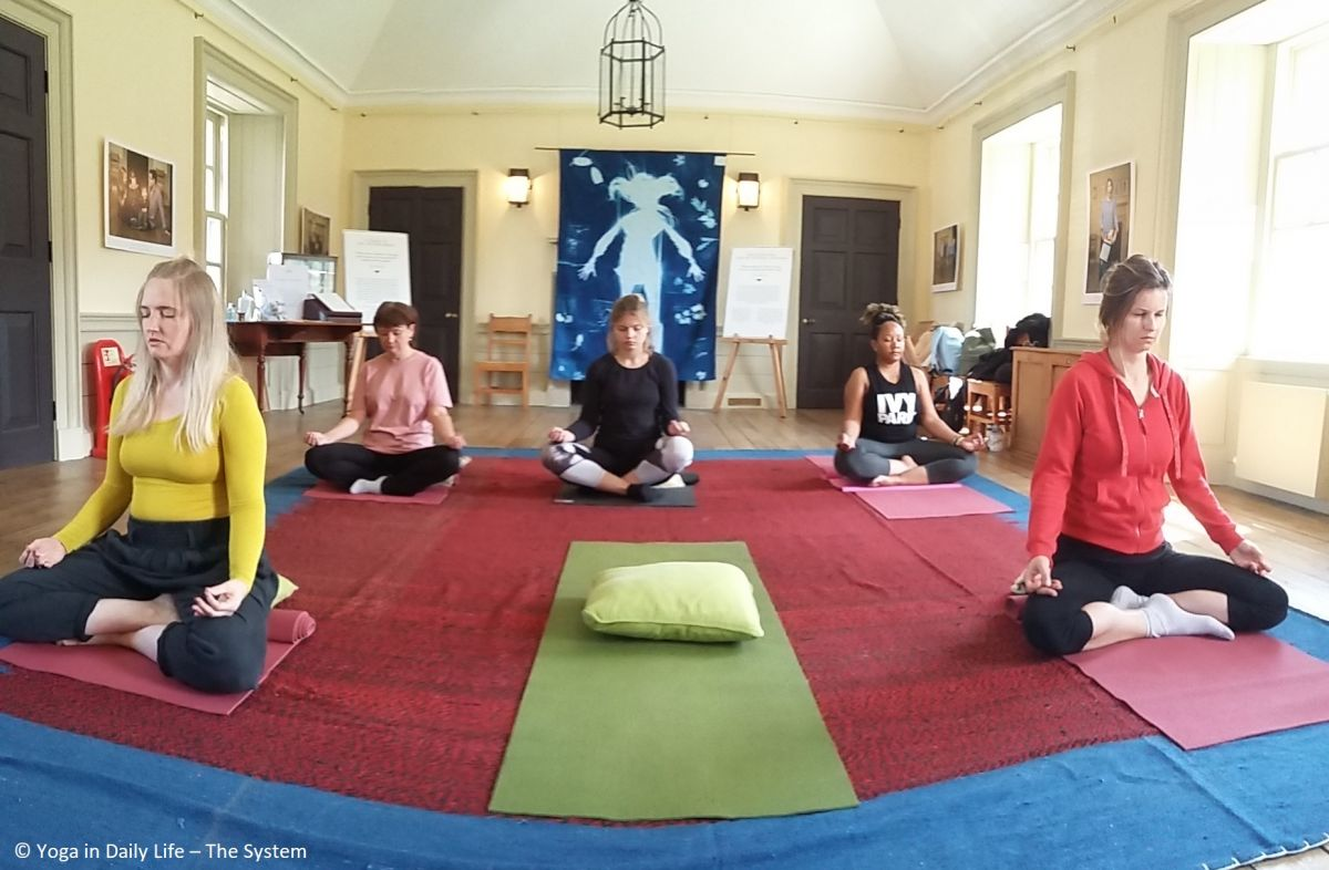 idy 2019 royal botanic gardens edinburgh   free yoga class