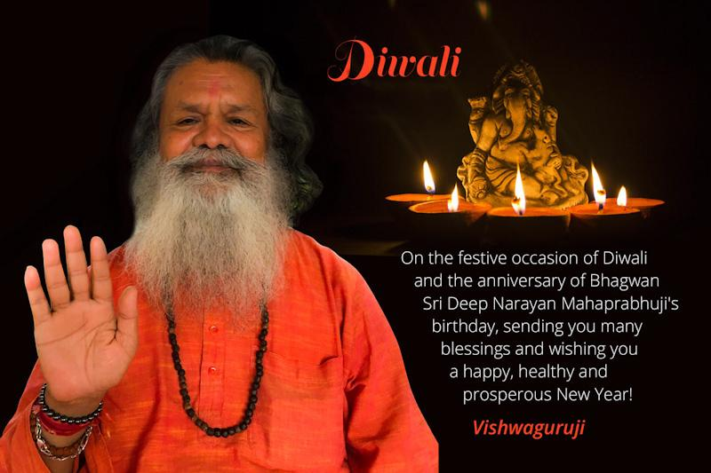 Diwali Blessings from Vishwaguruji 2019