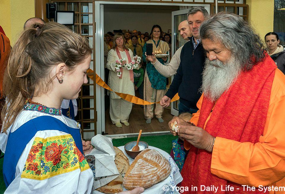 opening ceremony of the ashram small