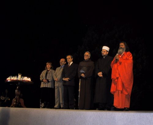 Multi-religious prayer for peace in the world