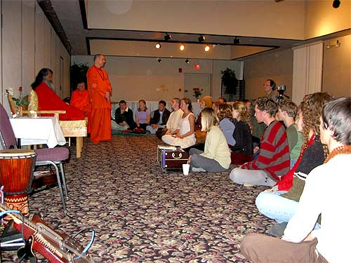 Swamiji's World Peace Tour 2003 (spiritual highlights)