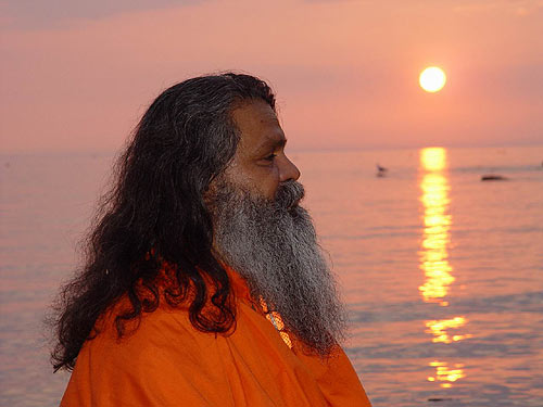 Swamiji in Croatia 2003