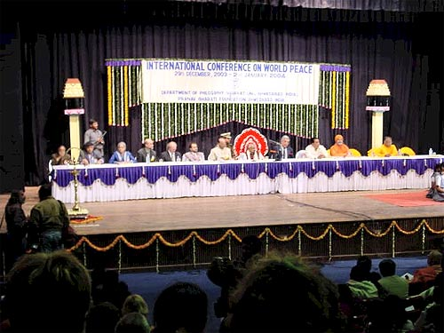 International Conference on World Peace, Ahmedabad/India