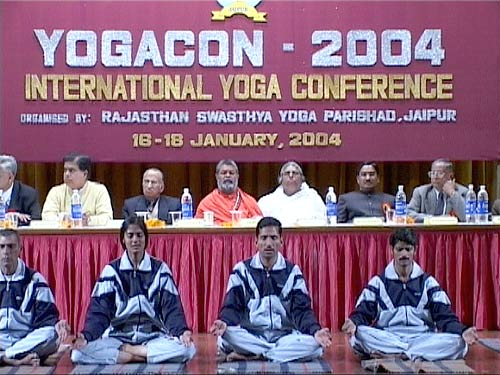 International Yoga Conference YOGACON-2004, Jaipur/India