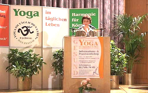 "Be healthy with ""Yoga in Daily Life"""