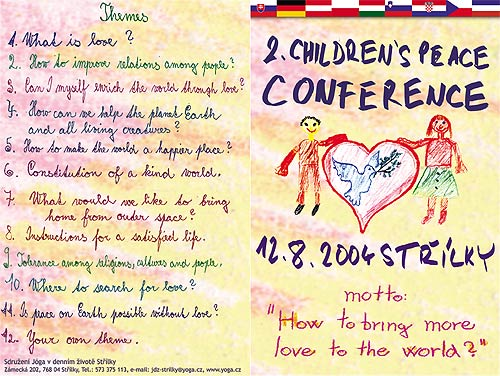 YIDL Youth Union & 2nd Children World Peace Conference