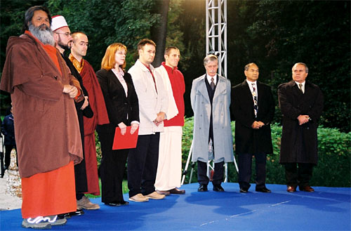 Multi-religious prayer for World Peace in Ljubljana, Slovenia