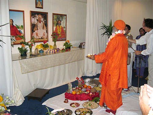 Opening ceremony for Wellington Ashram, March 26th