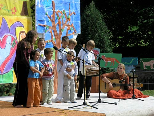 A song by Slovenian group of children