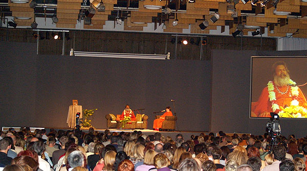 Public lecture about Svadisthan Chakra in Zagreb