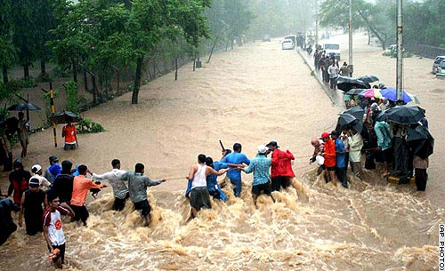 Call for help: relief for flood victims in India