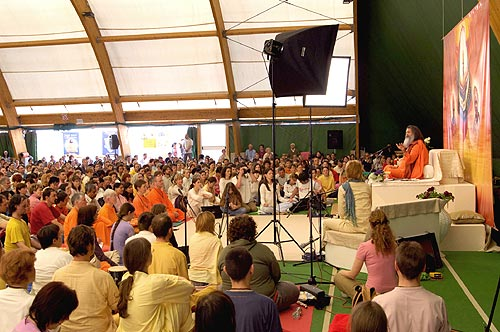 International yoga seminar in Umag