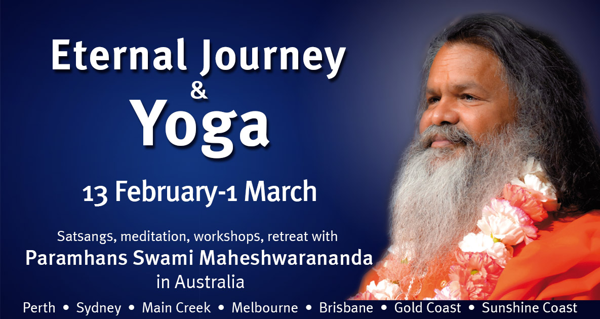 vishwaguruji world tour facebook 2020 australia