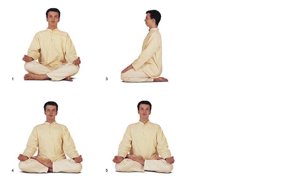 Sitting Postures for Pranayama and Meditation