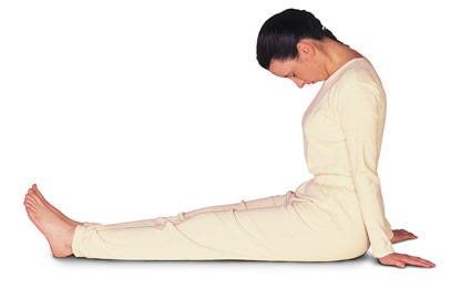 1 – 3/9 Sarva Hita Asana Neck Relaxation - Sitting
