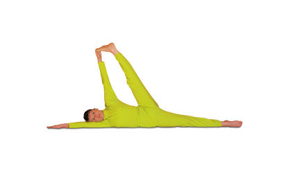 2 – 15 Hasta Padangushthasana Hand to Foot Stretch