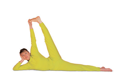 2 – 2 Meru Akaranasana Stretching the Spine and Inner Thigh