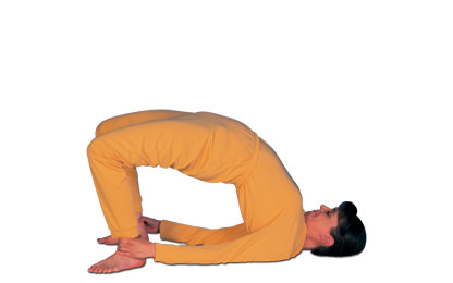 3 – 2 Skandharasana Shoulder Pose